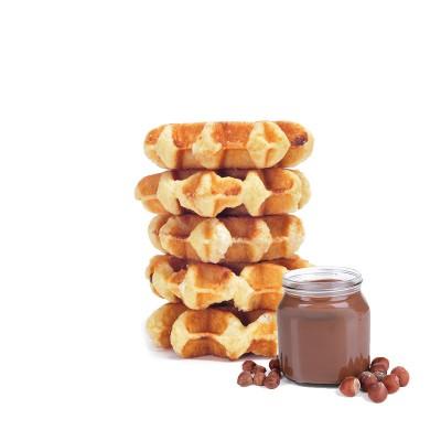 Gaufre de Liège Nutella